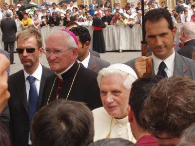 Paavsti audientsil